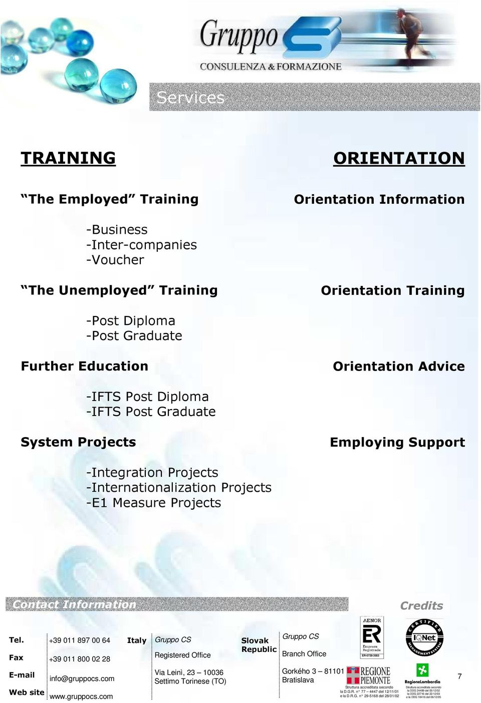 Graduate Further Education Orientation Advice -IFTS Post Diploma -IFTS Post Graduate System