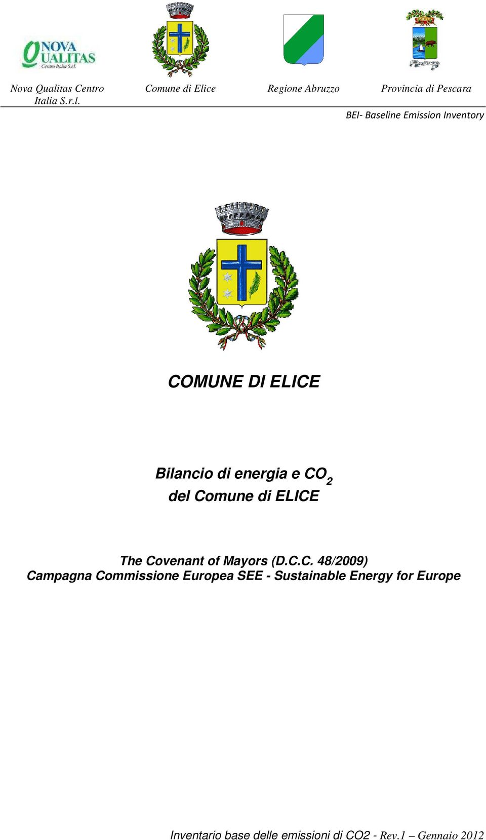 Commissione Europea SEE - Sustainable Energy for Europe