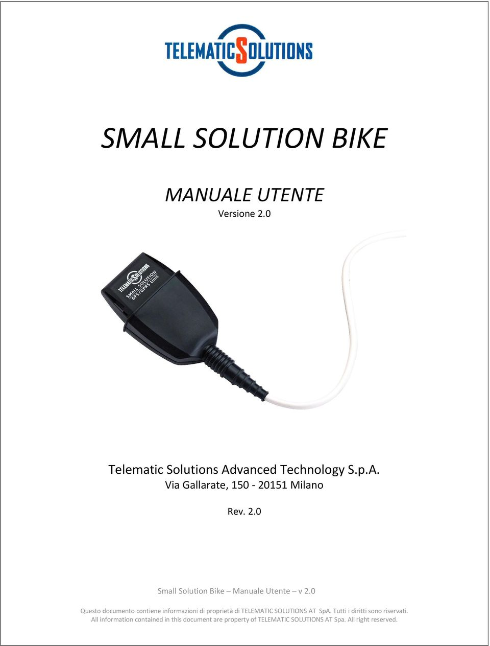 0 Telematic Solutions Advanced
