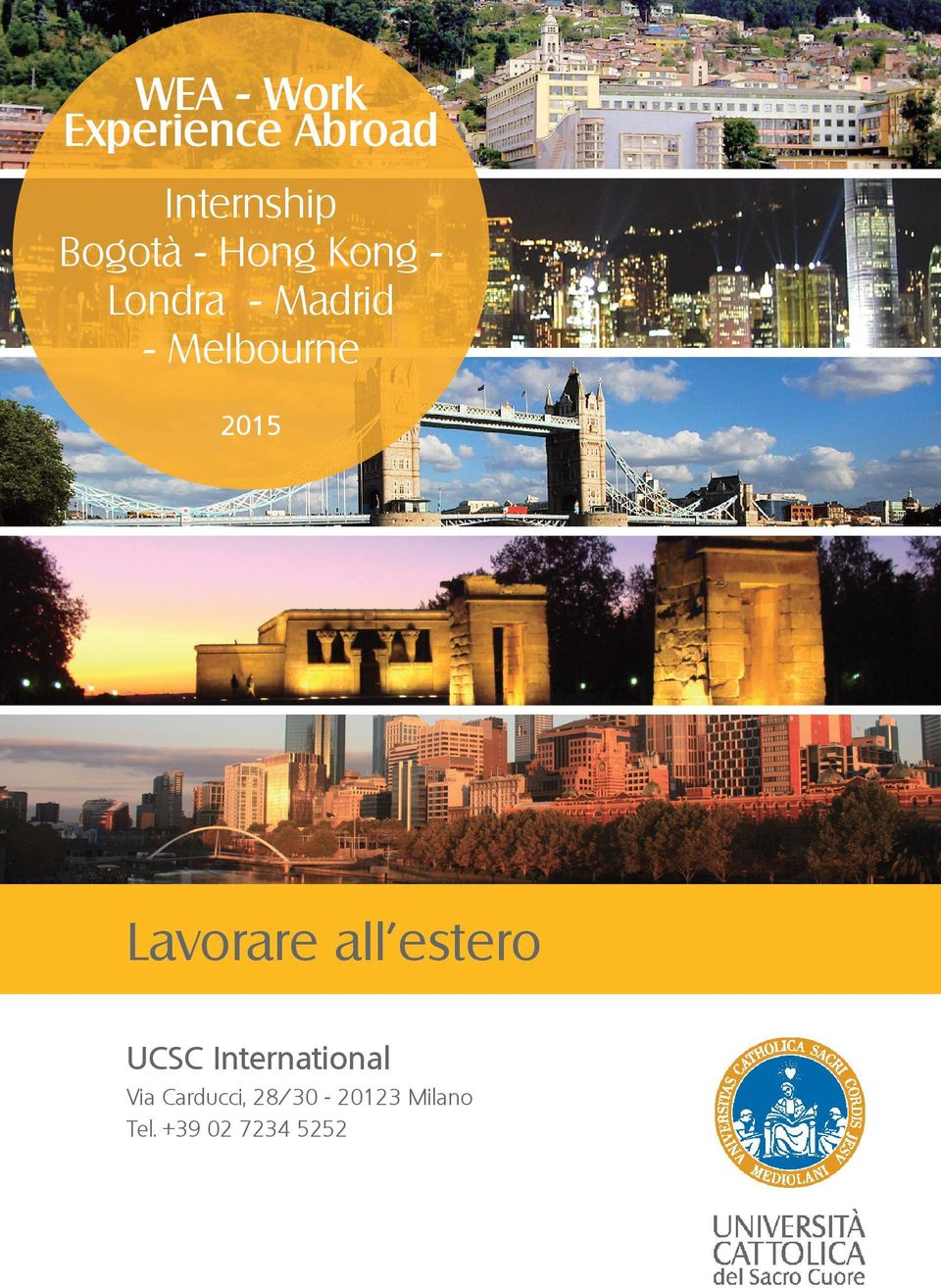 Lavorare all estero UCSC International Via