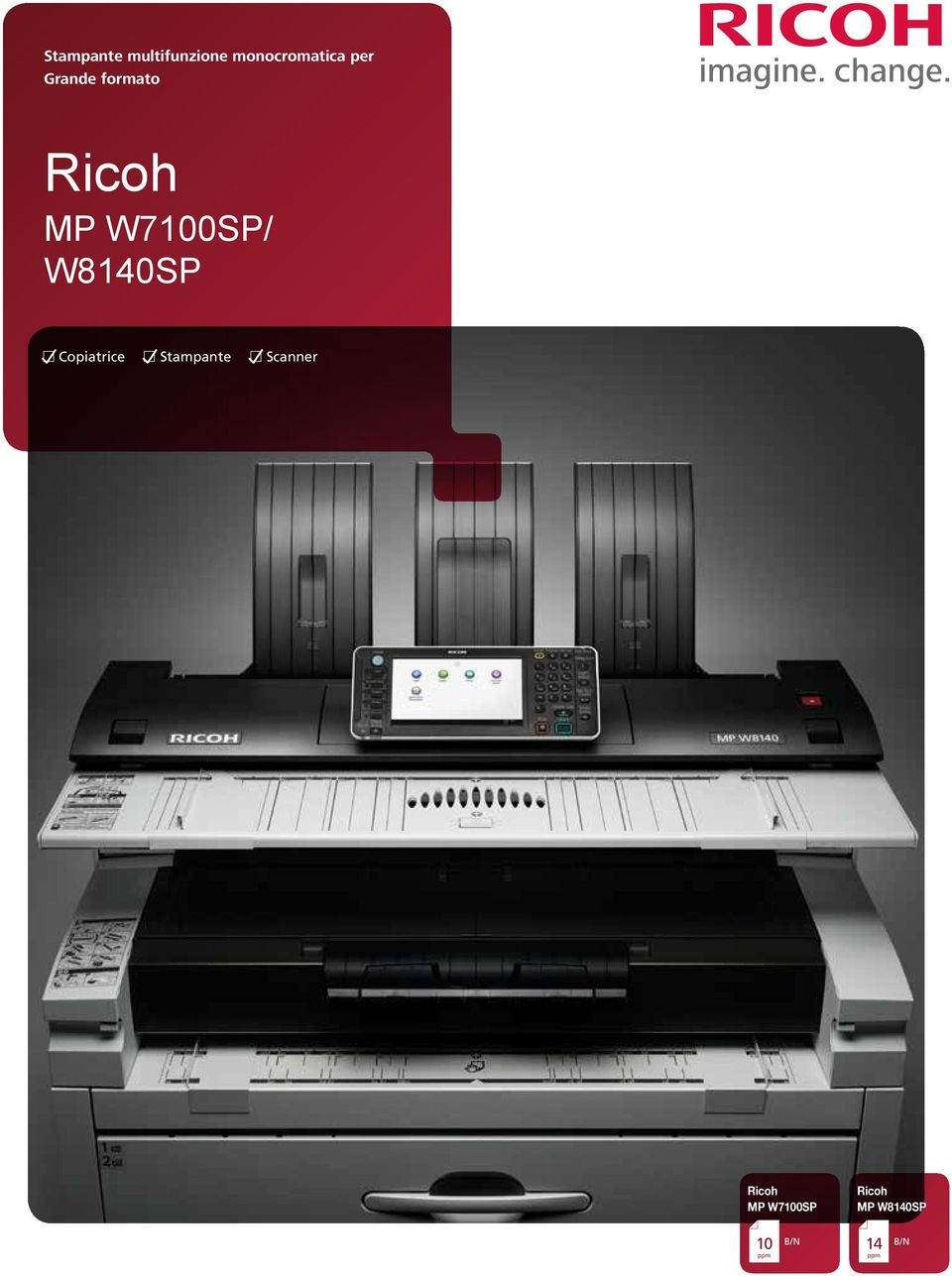 Copiatrice Stampante Scanner Ricoh MP