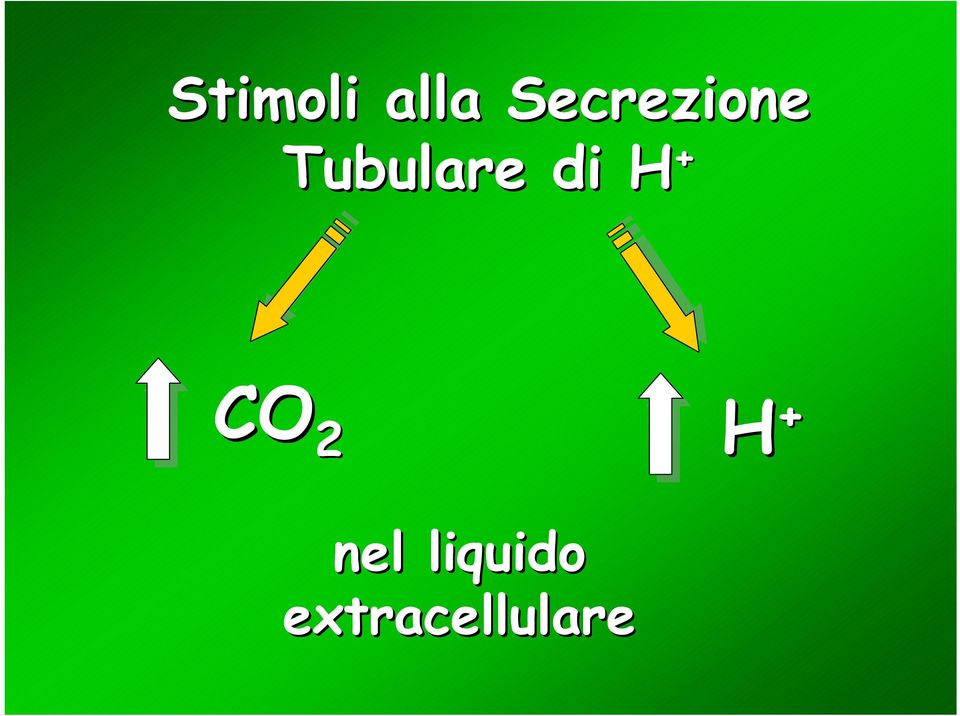 Tubulare di H + CO