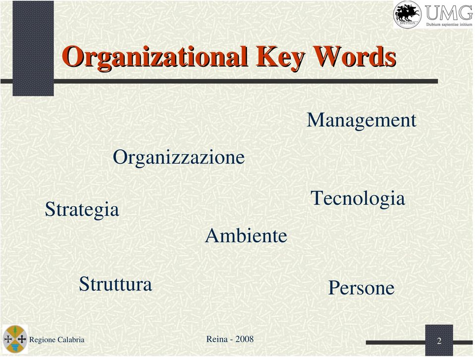Management Strategia