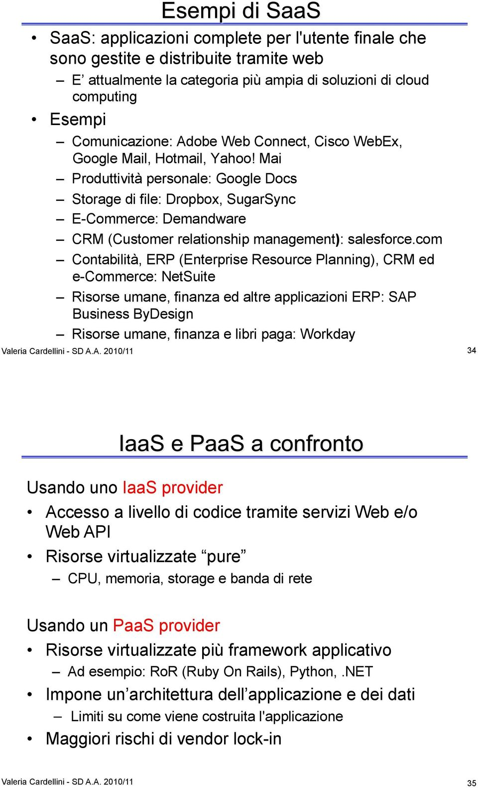 Mai Produttività personale: Google Docs Storage di file: Dropbox, SugarSync E-Commerce: Demandware CRM (Customer relationship management): salesforce.
