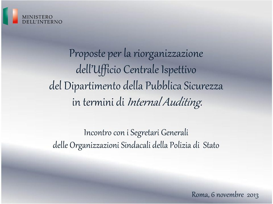 termini di InternalAuditing.
