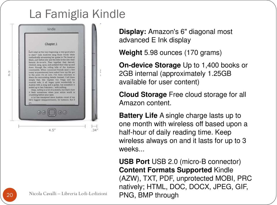 25GB available for user content) Cloud Storage Free cloud storage for all Amazon content.