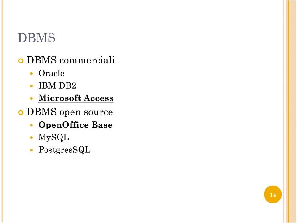 Access DBMS open source