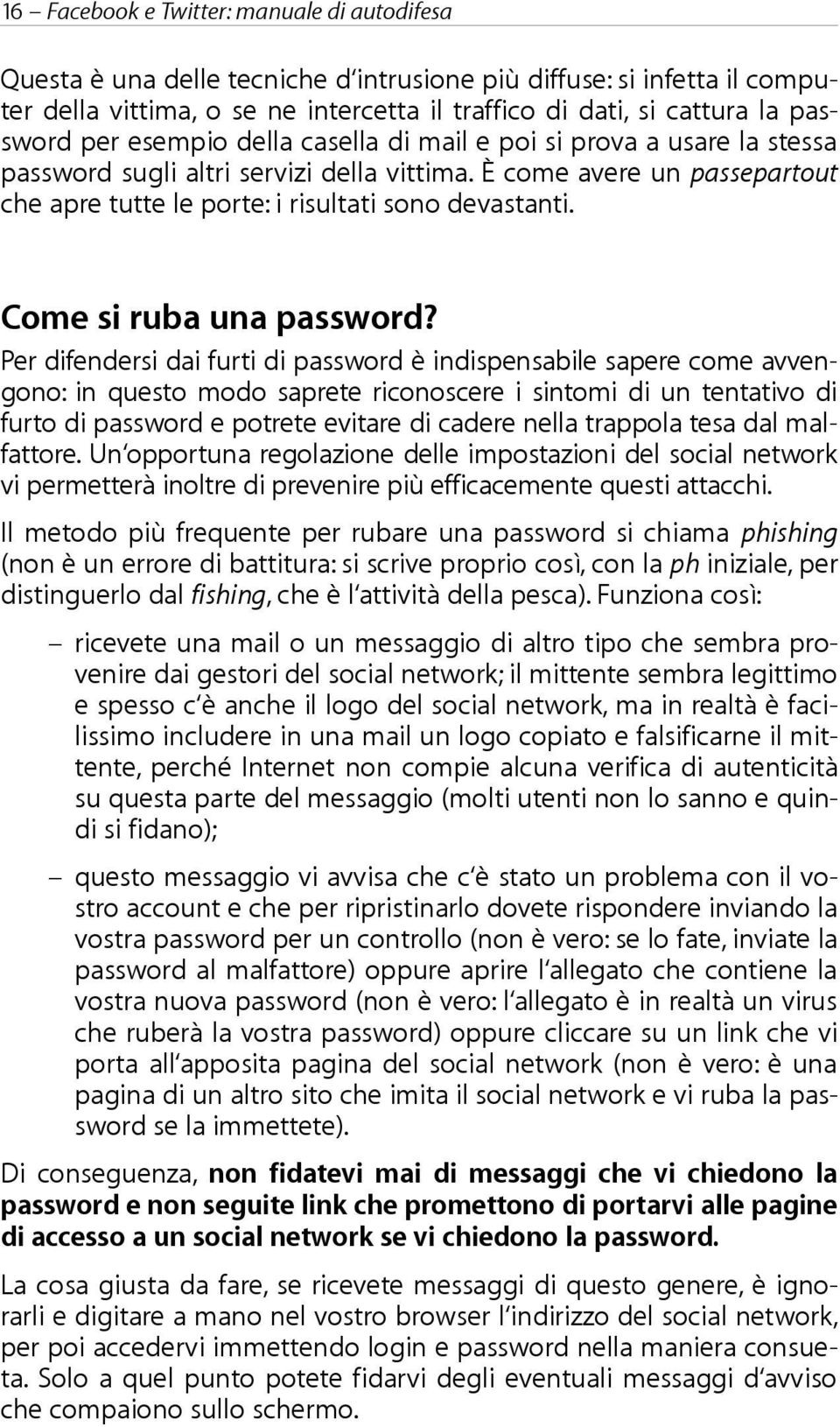 Come si ruba una password?