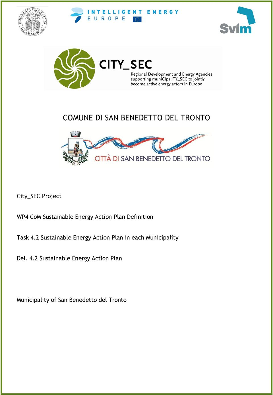 2 Sustainable Energy Action Plan in each Municipality Del. 4.