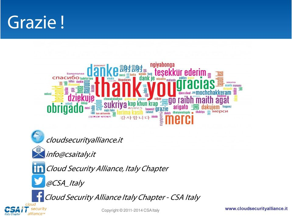 it Cloud Security Alliance, Italy