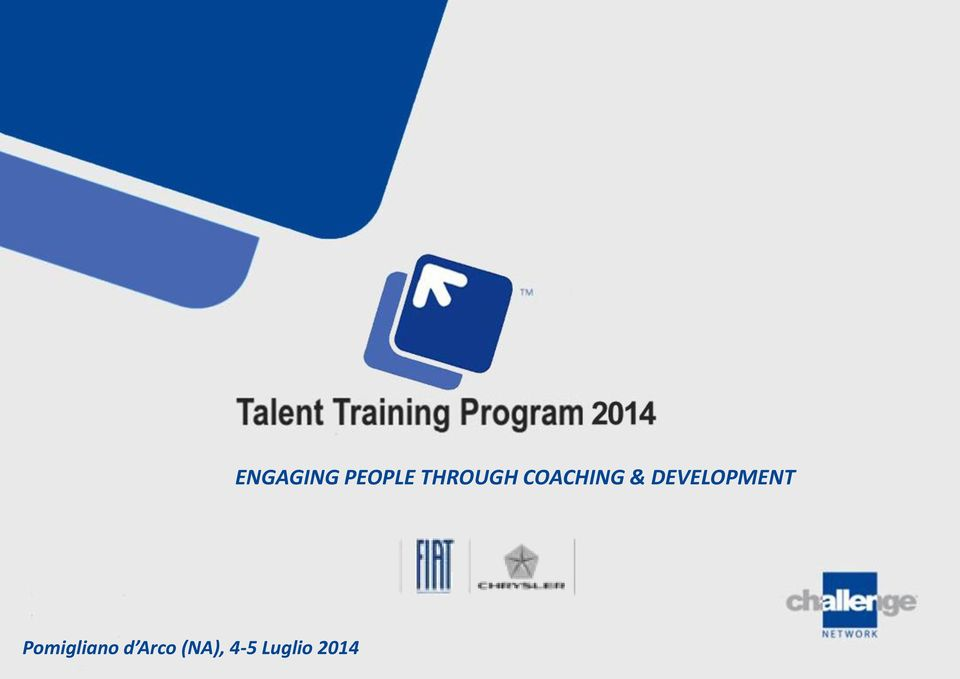Pomigliano TALENT TRAINING