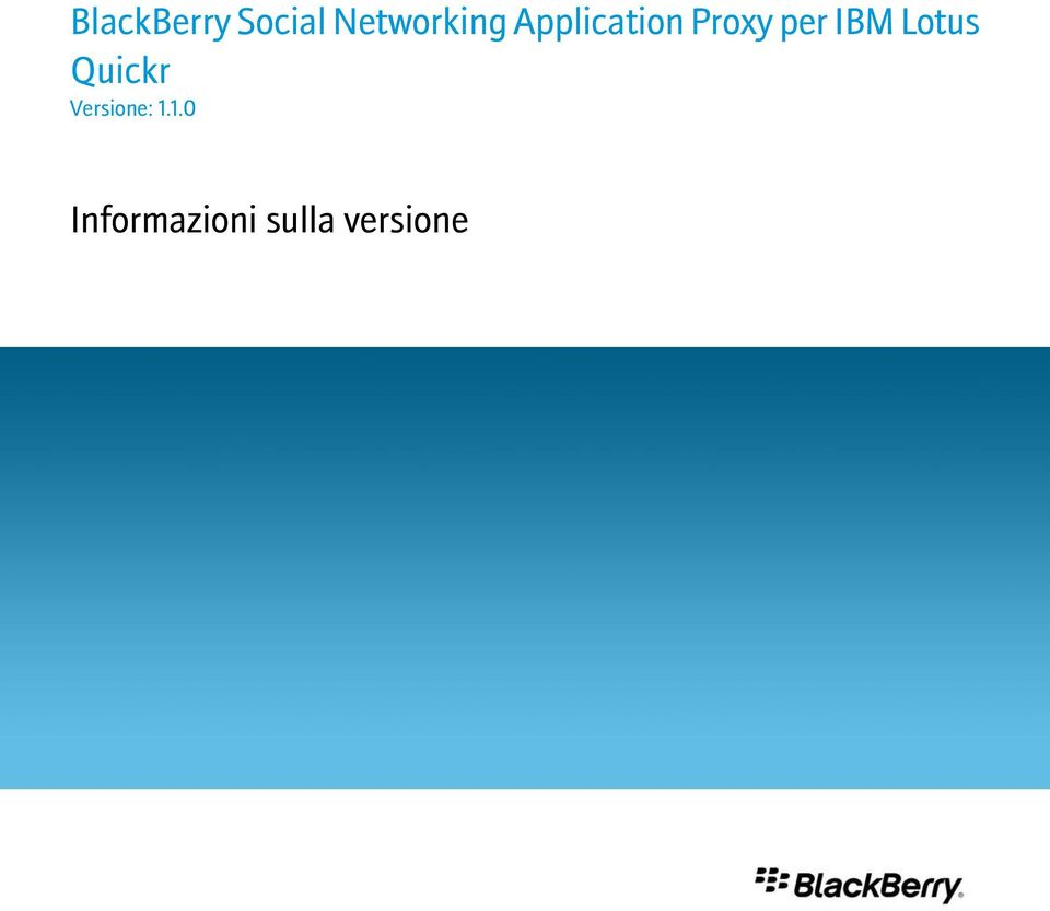 Proxy per IBM Lotus Quickr