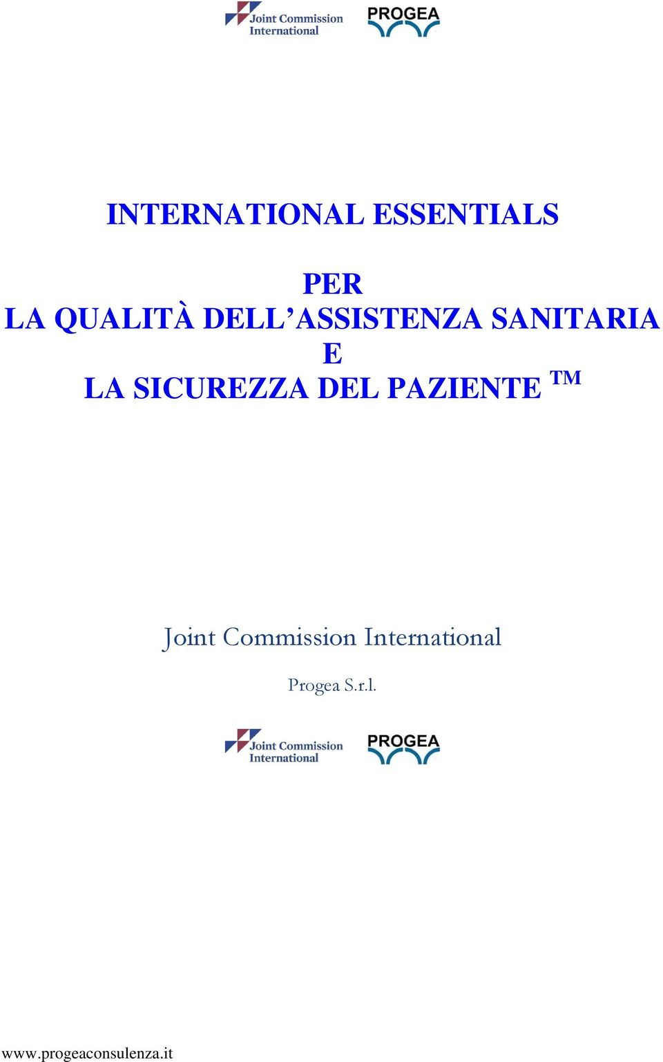 DEL PAZIENTE TM Joint Commission