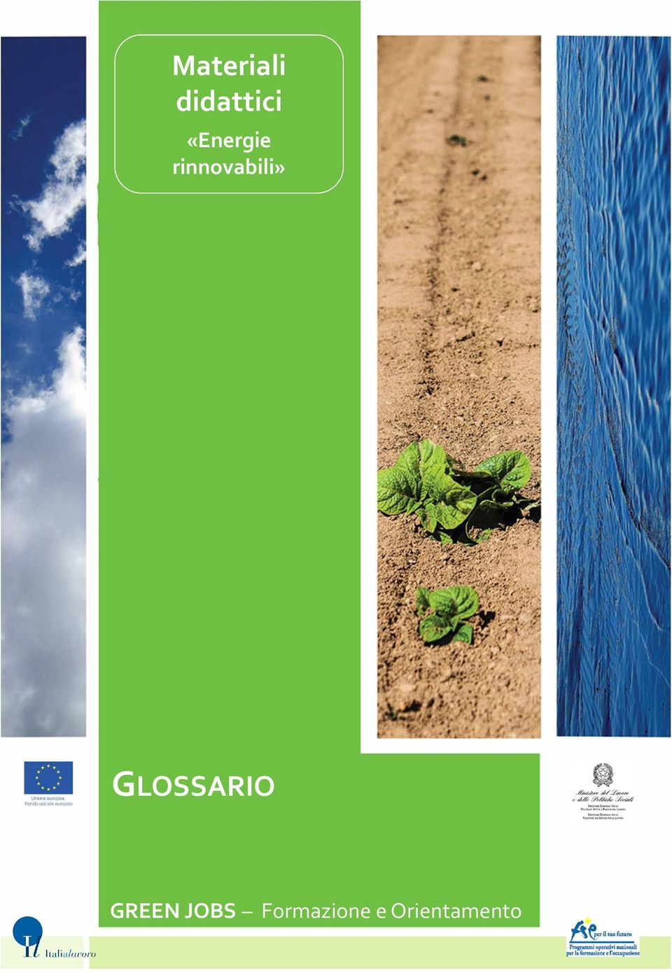 GLOSSARIO GREEN JOBS
