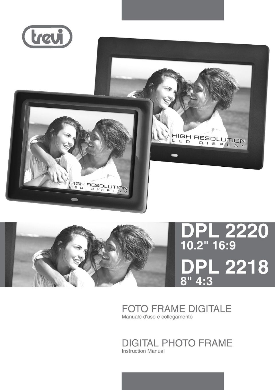 FRAME DIGITALE Manuale d'uso e