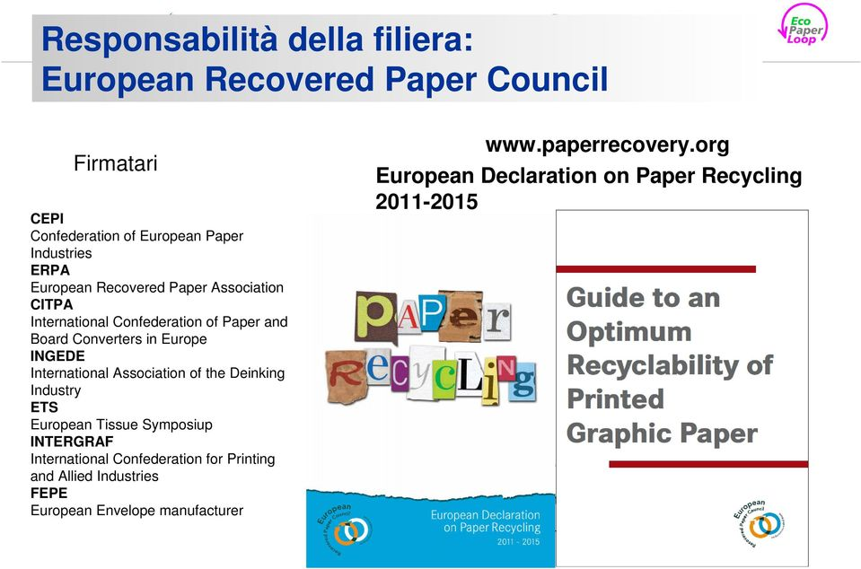 and Allied Industries FEPE European Envelope manufacturer www.paperrecovery.