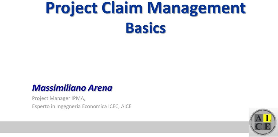 Project Manager IPMA,