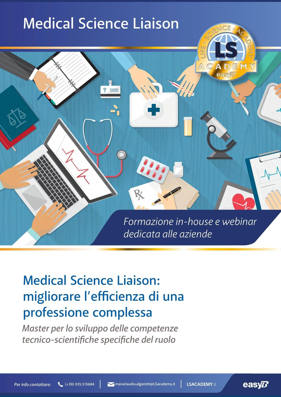 Master per l svilupp delle cmpetenze tecnic-scientifiche specifiche del