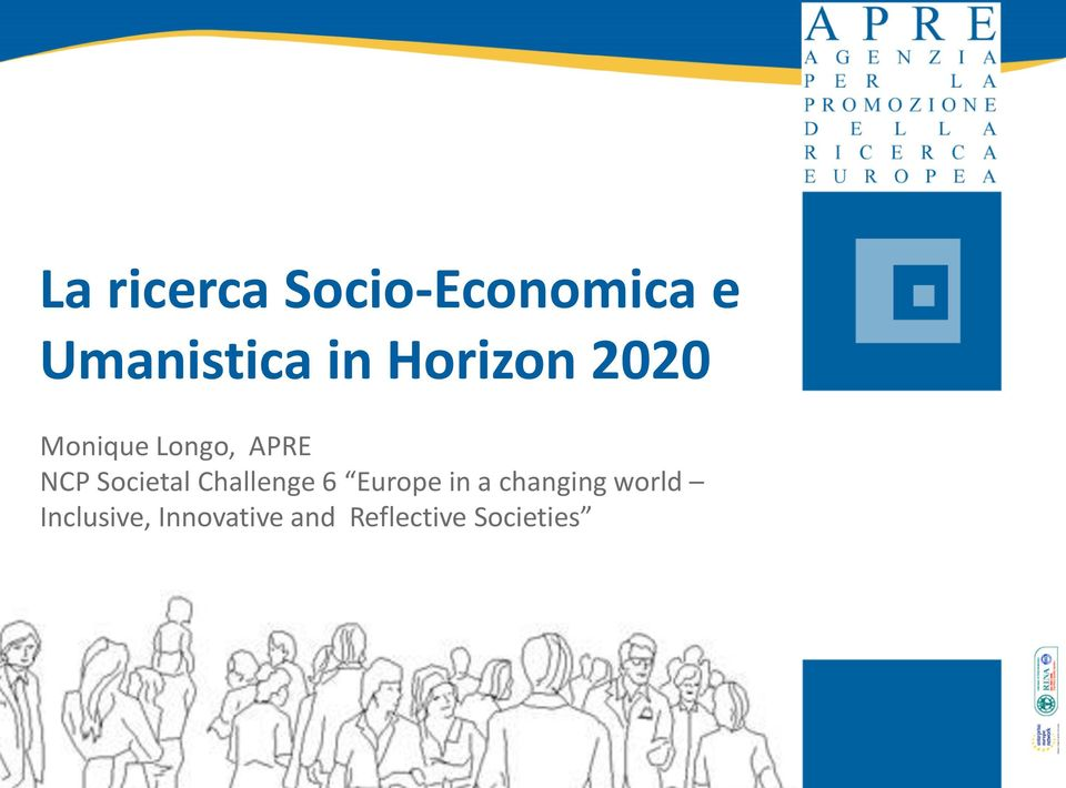 Societal Challenge 6 Europe in a changing