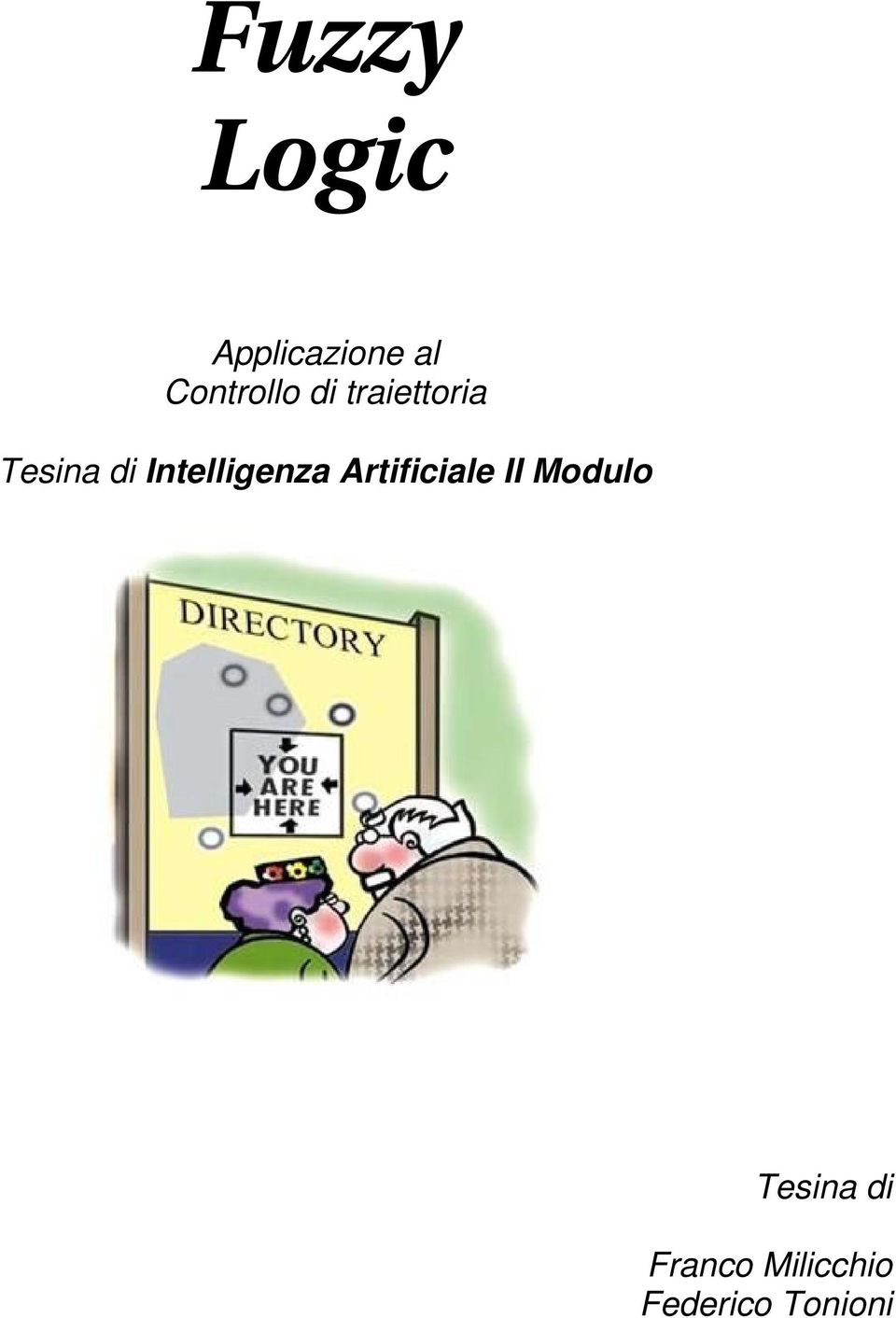 Intelligenza Artificiale II Modulo