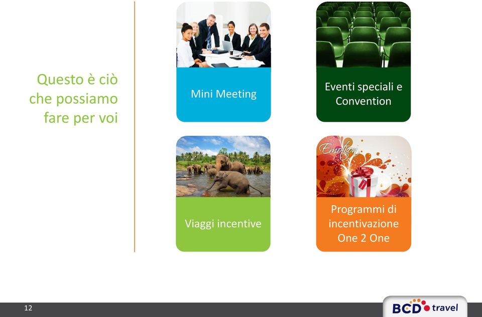 Convention Viaggi incentive