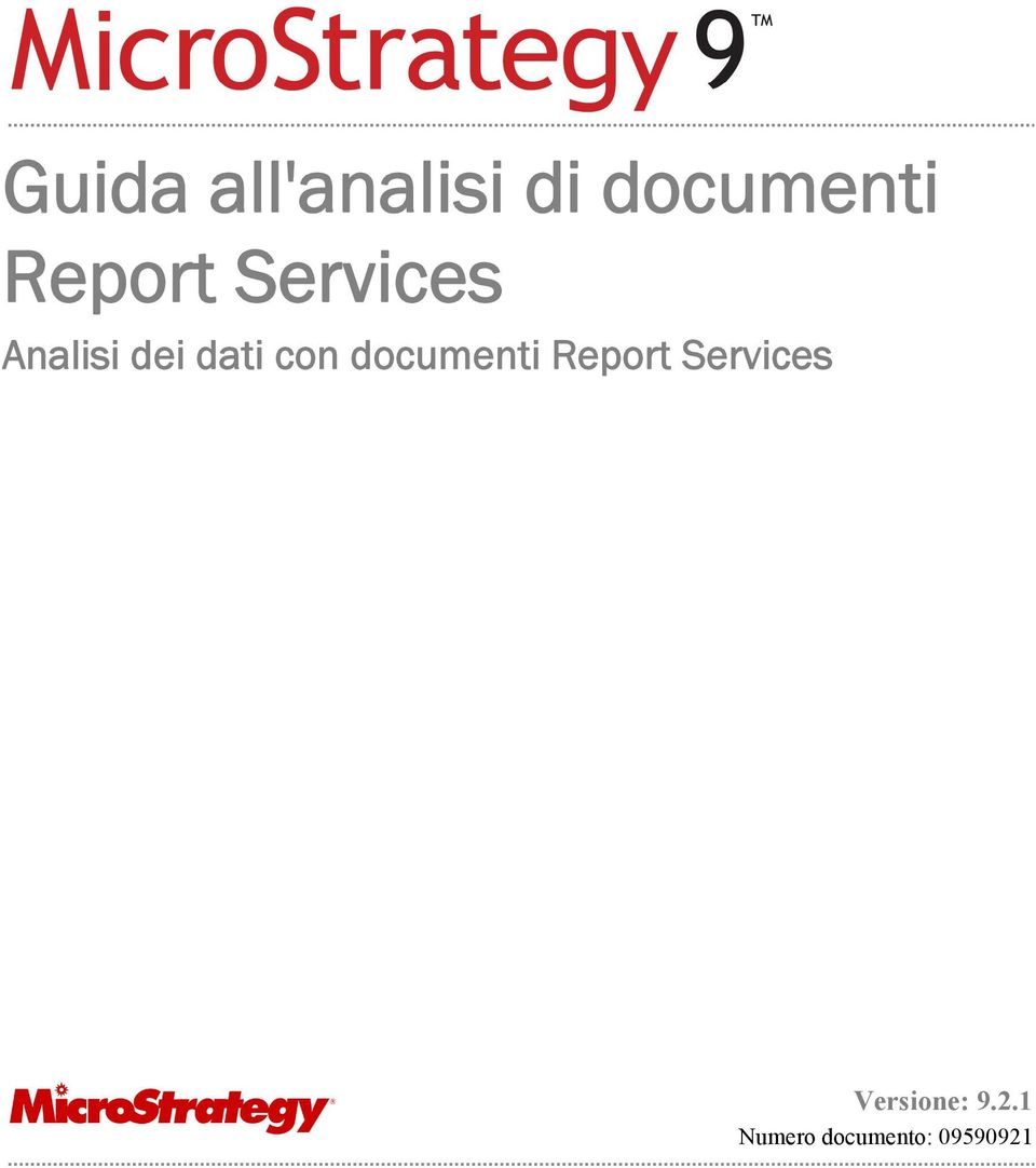 con documenti Report Services