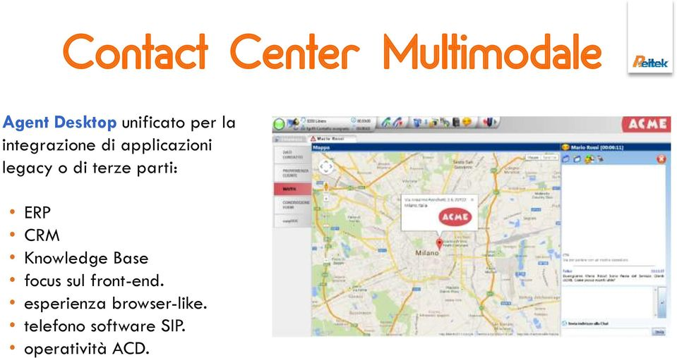parti: ERP CRM Knowledge Base focus sul front-end.