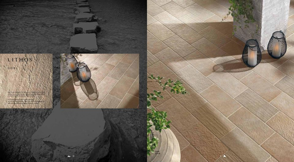 significato di superficie naturale. Pure stone running and sculpting the floor.