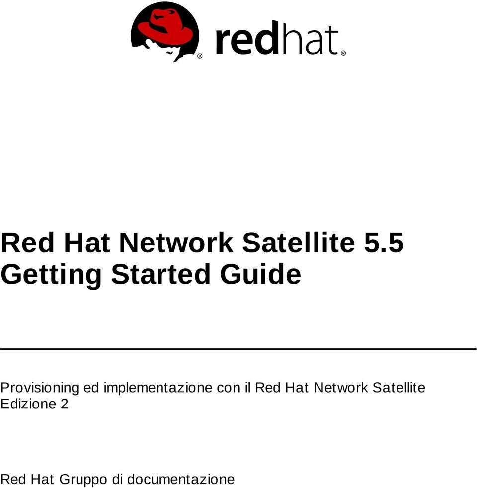 implementazione con il Red Hat Network