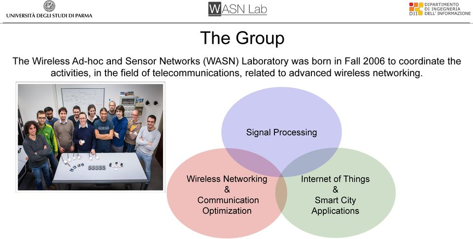 telecommunications, related to advanced wireless networking.