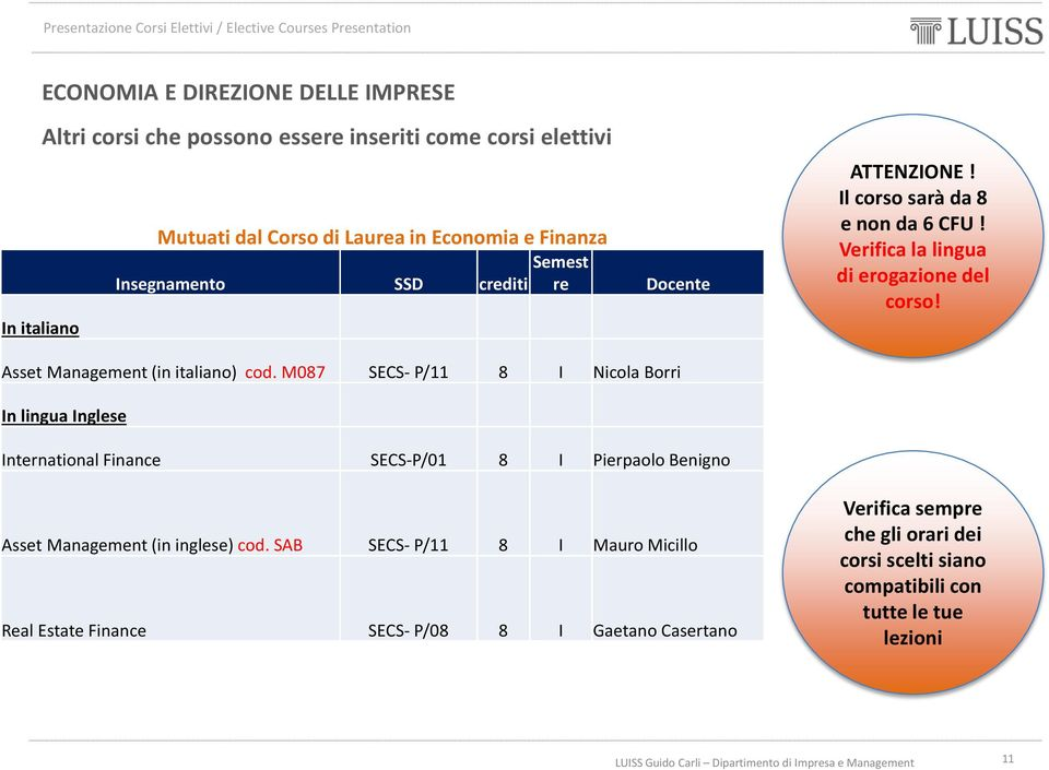 Asset Management (in italiano) cod.