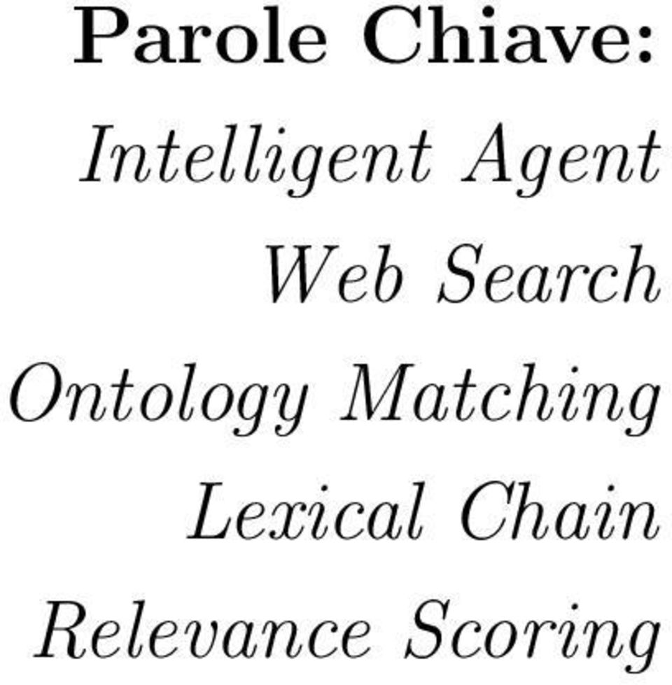 Search Ontology