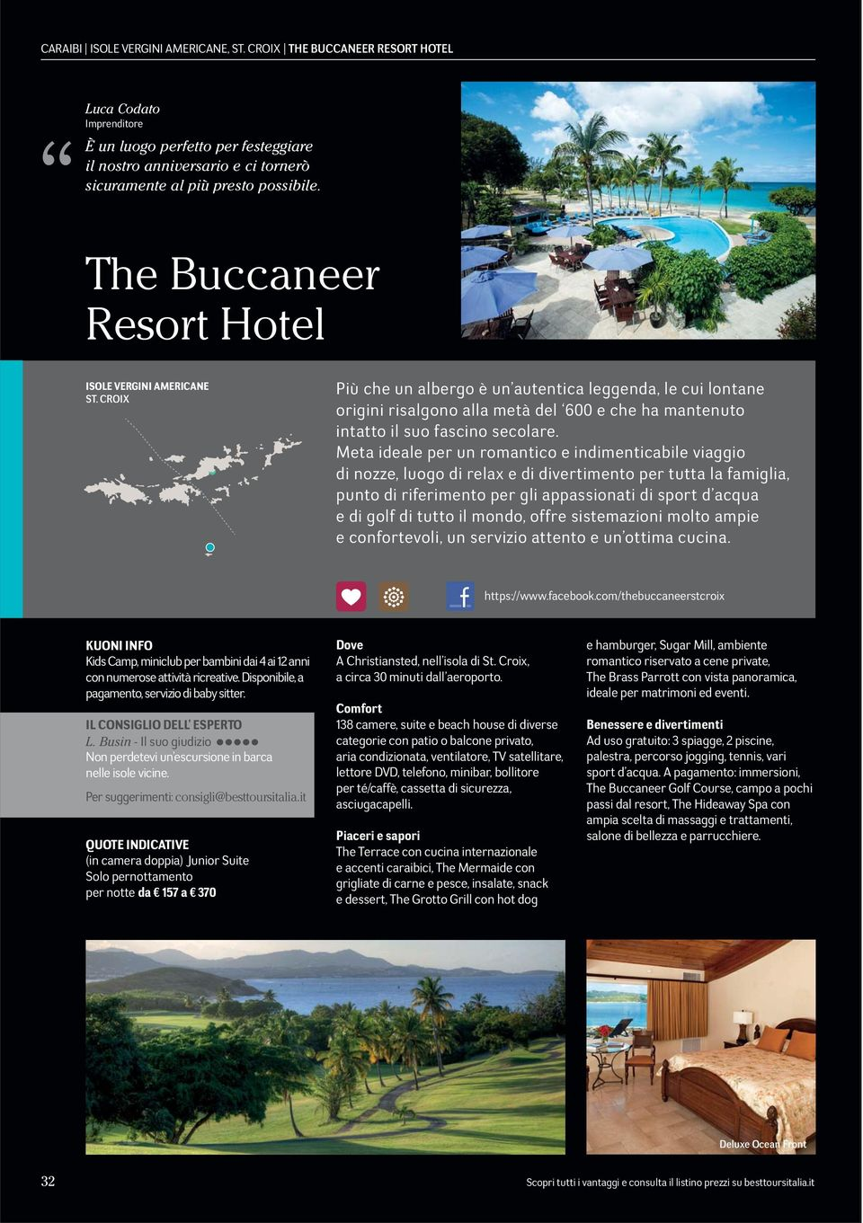 The Buccaneer Resort Hotel ISOLE VERGINI AMERICANE ST.