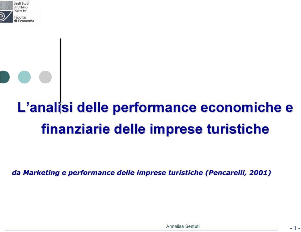 Marketing e performance delle imprese