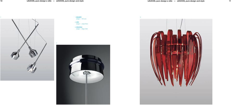 design and style 11 1 1. BEAMER design Arik Levy 3 2.