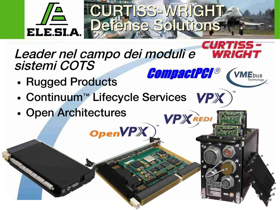 sistemi COTS Rugged Products