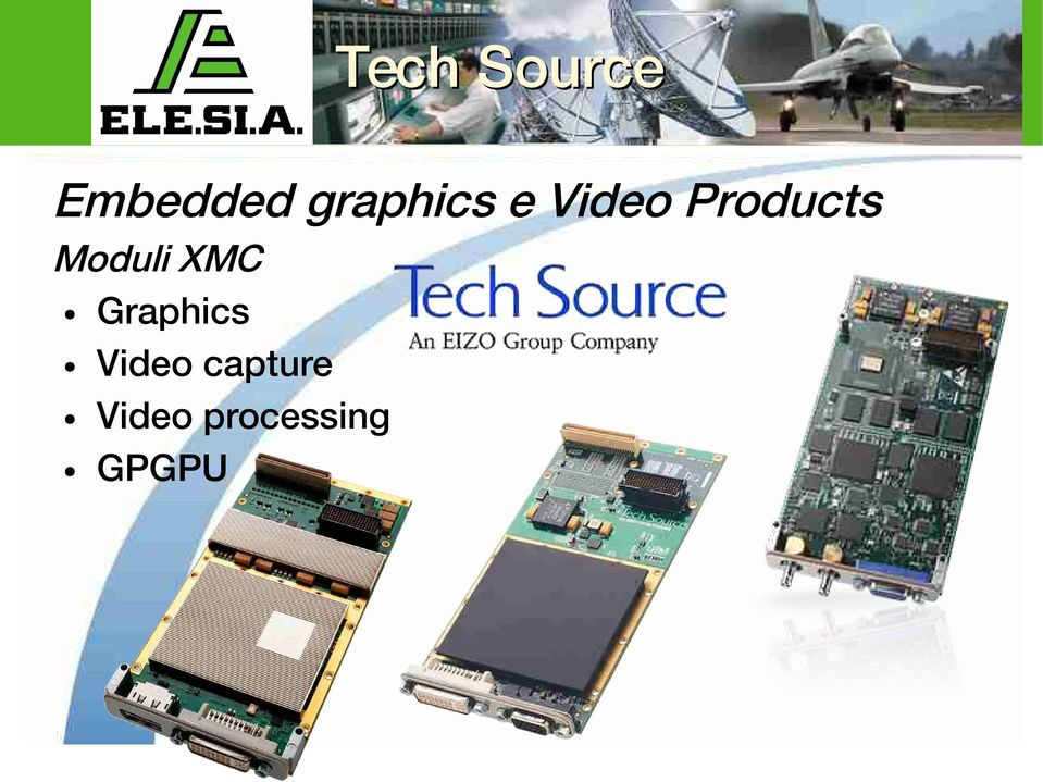 Moduli XMC Graphics Video