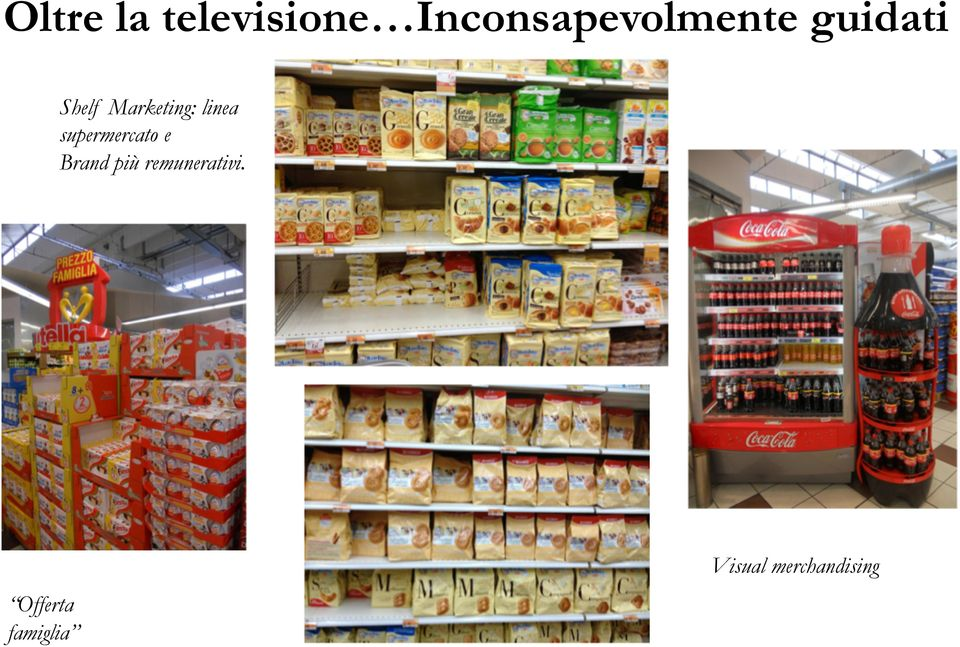 Marketing: linea supermercato e