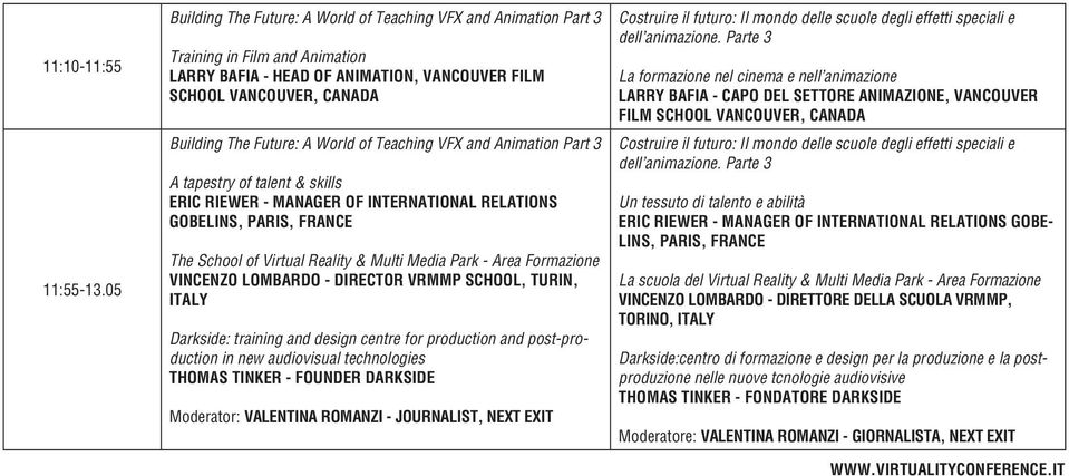 World of Teaching VFX and Animation Part 3 A tapestry of talent & skills ERIC RIEWER - MANAGER OF INTERNATIONAL RELATIONS GOBELINS, PARIS, FRANCE The School of Virtual Reality & Multi Media Park -