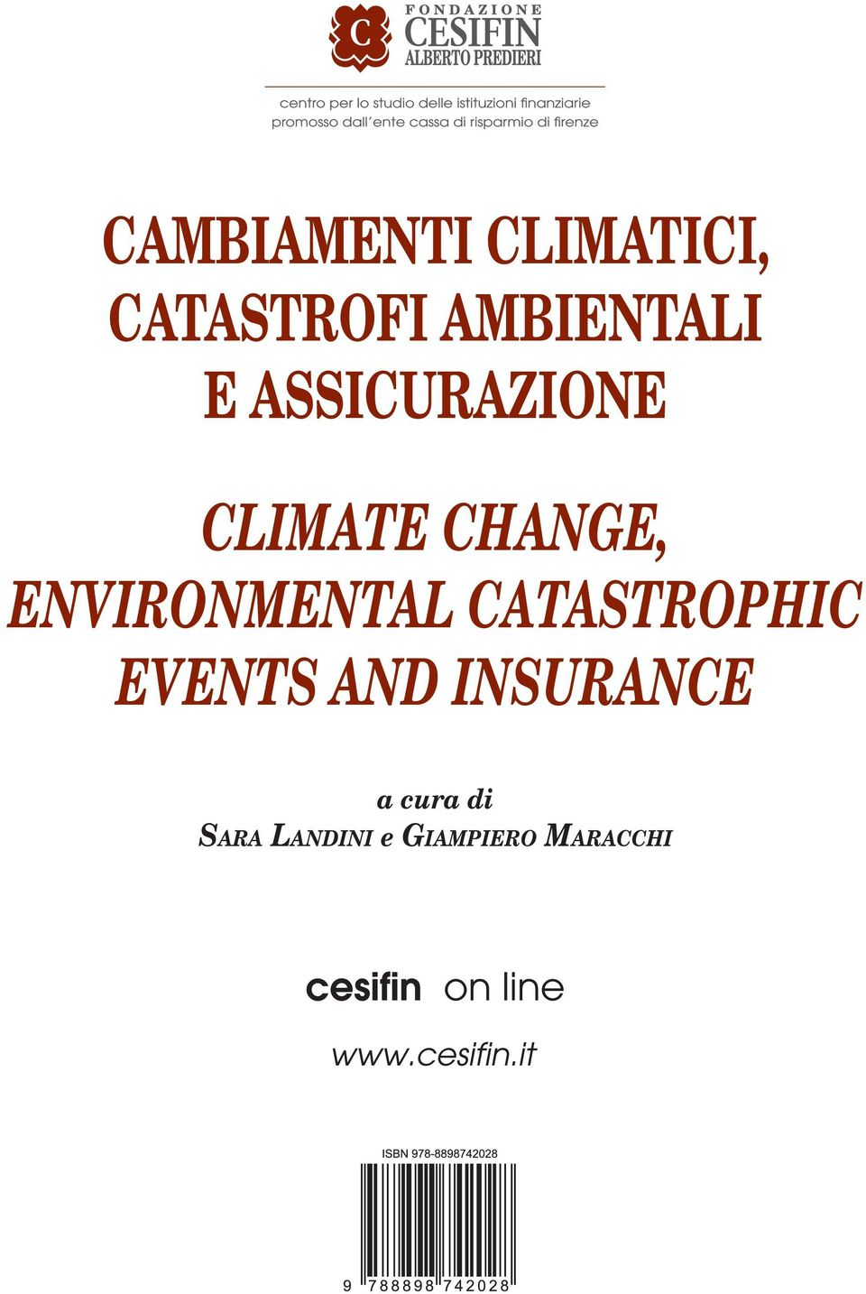 CHANGE, ENVIRONMENTAL CATASTROPHIC EVENTS