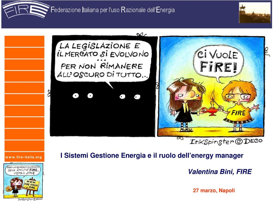 energy manager Valentina