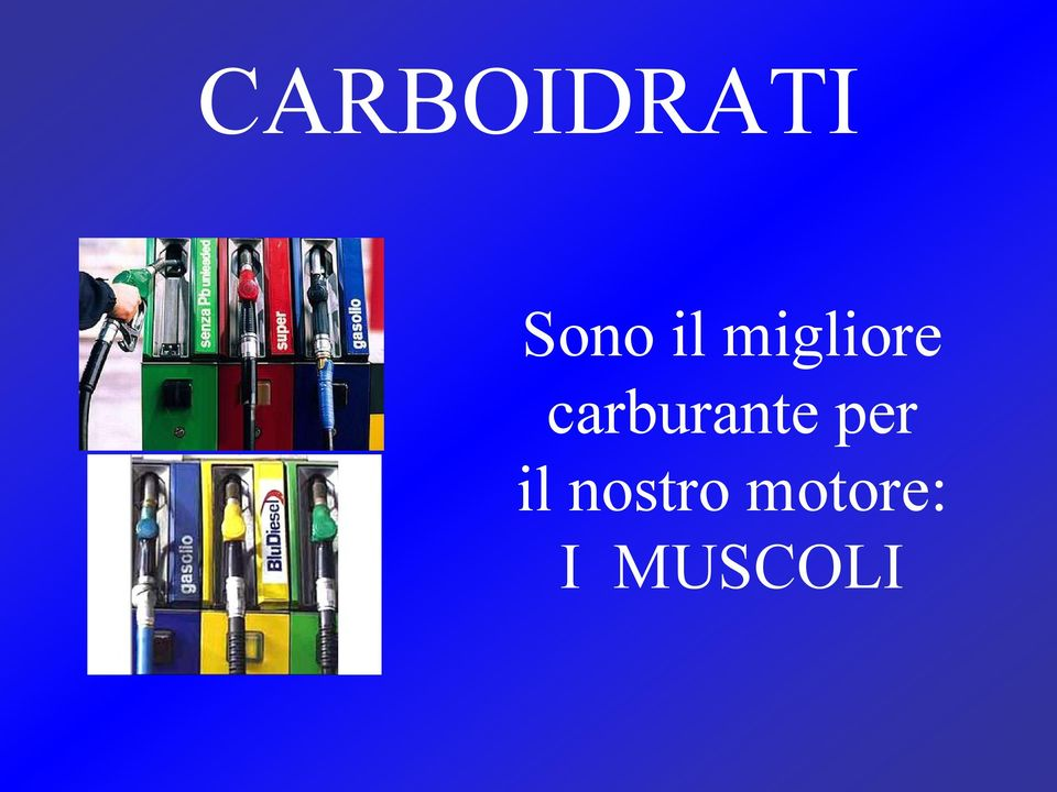 carburante per il