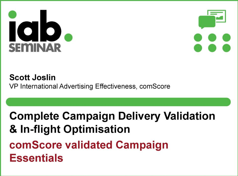Delivery Validation & In-flight