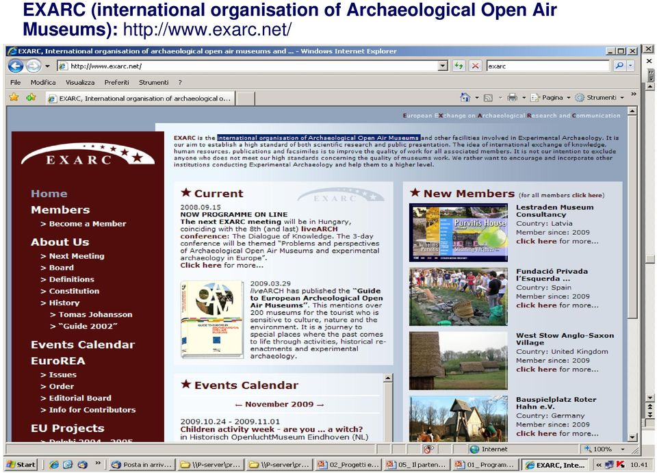 Archaeological Open