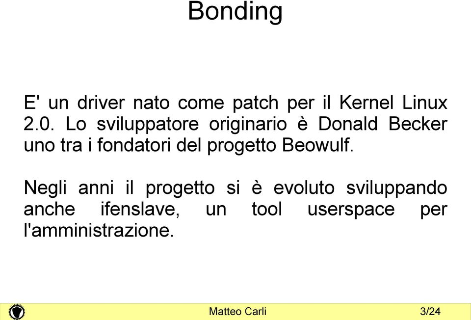 progetto Beowulf.