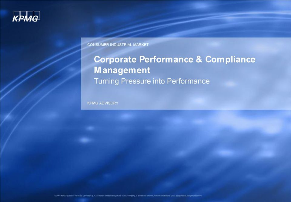 Compliance Management Turning