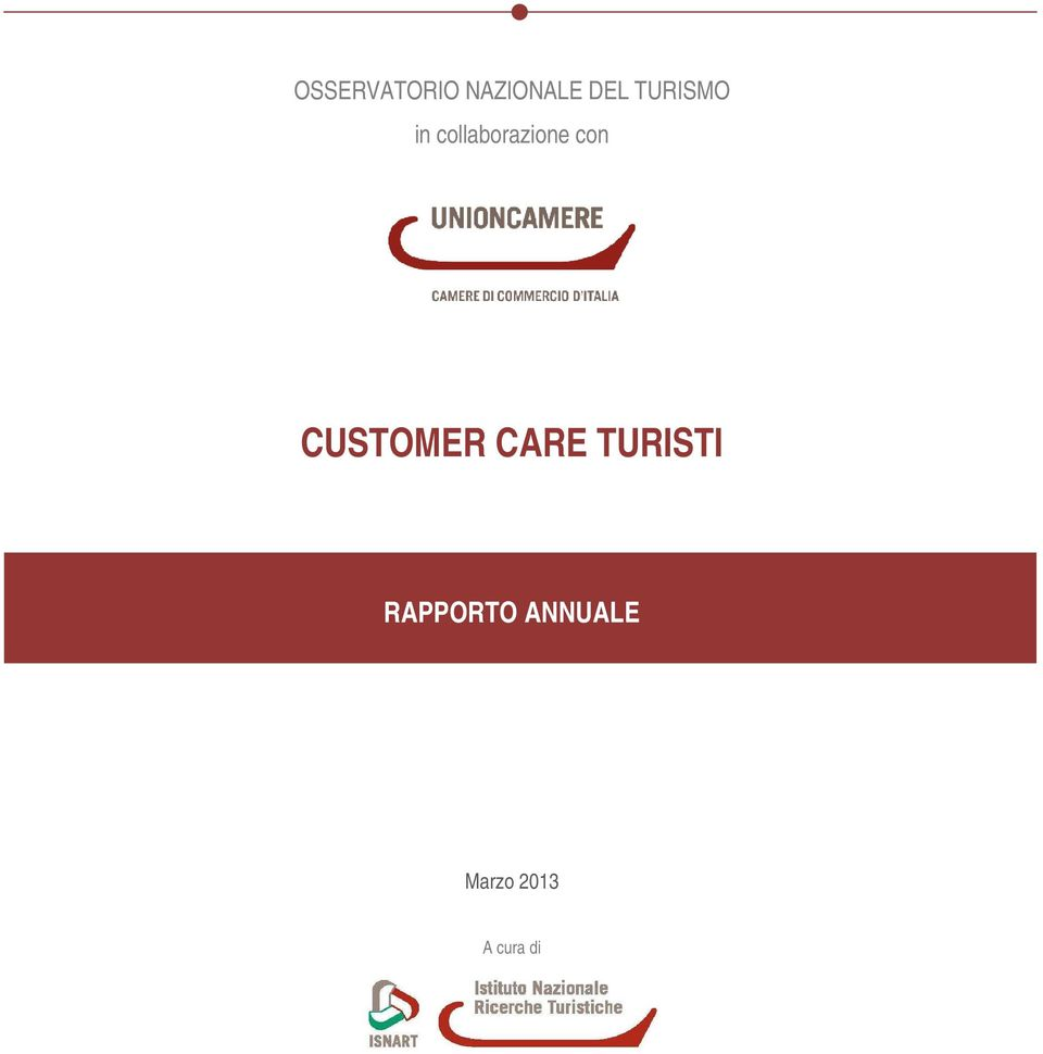 con CUSTOMER CARE TURISTI