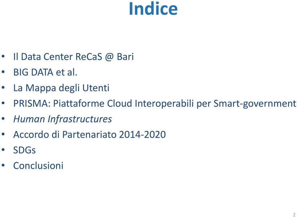 Interoperabili per Smart-government Human