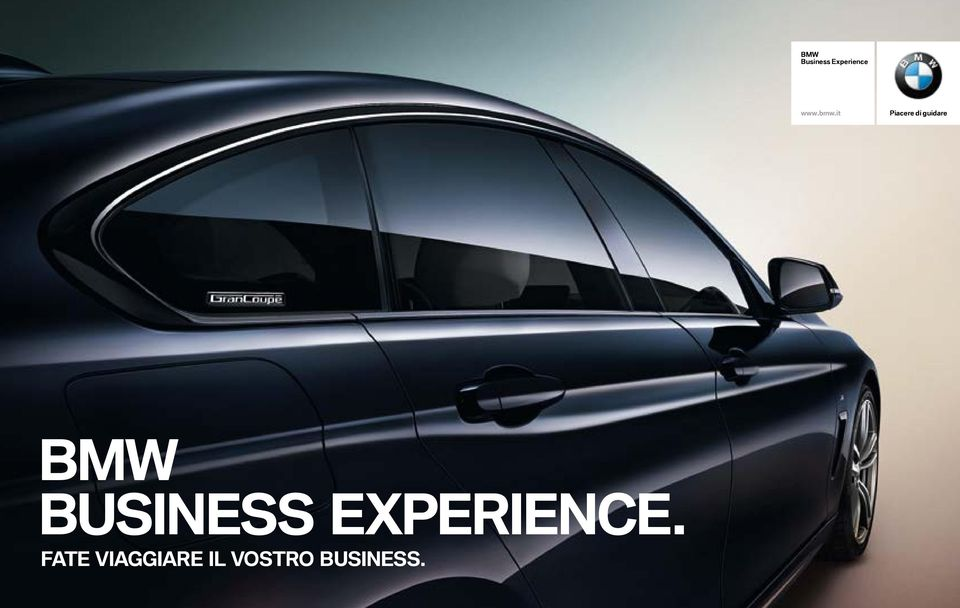 BMW BUSINESS EXPERIENCE.