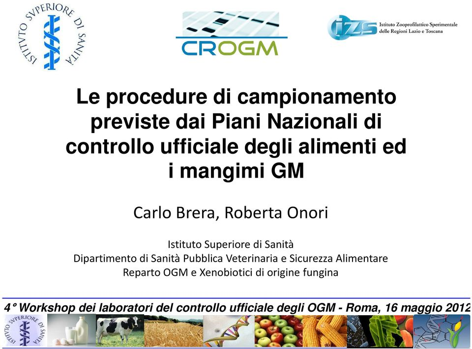 Le procedure di campionamento previste dai piani nazionali for Gettare i piani del workshop